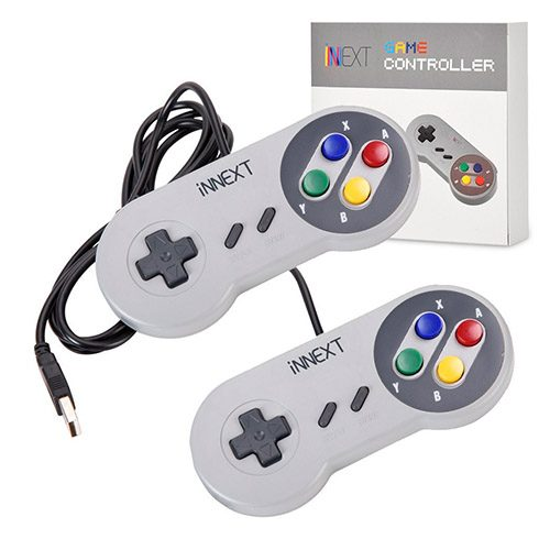 mando usb inext snes