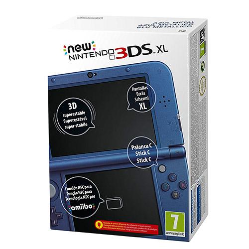 new 3ds xl azul