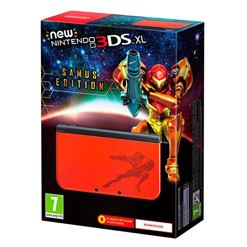 new 3ds xl samus