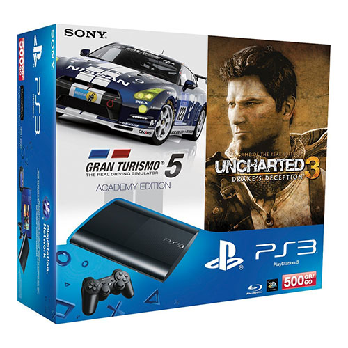 ps3 pack gt5 uncharted