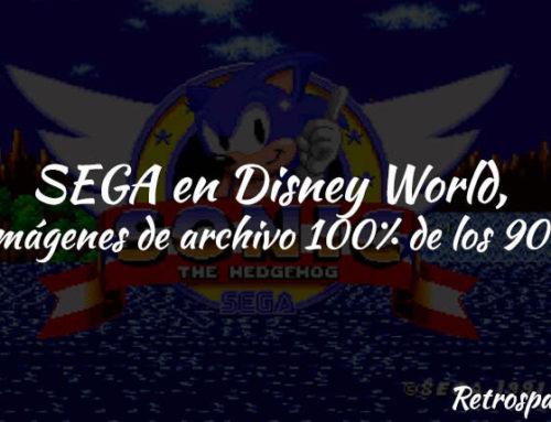SEGA en Disney World, imágenes de archivo 100% de los 90's