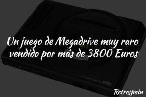juego de megadrive vendid por 3800