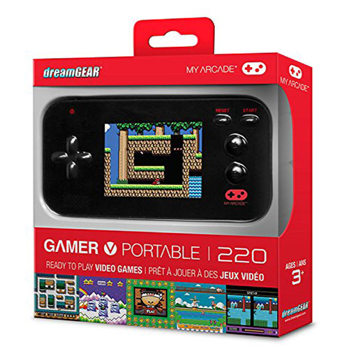 retro game portable 220