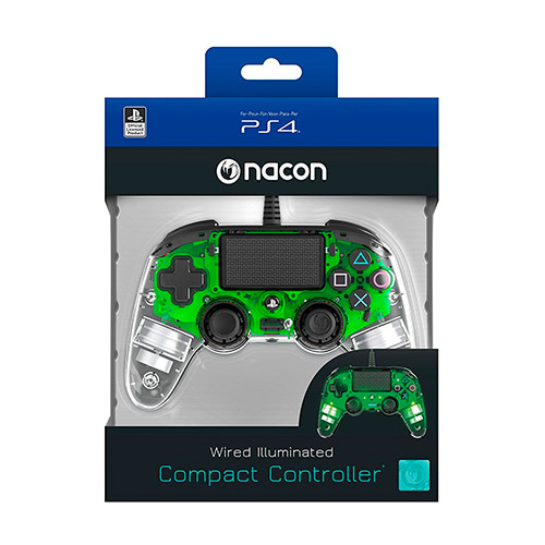 mando ps4 nacon verde