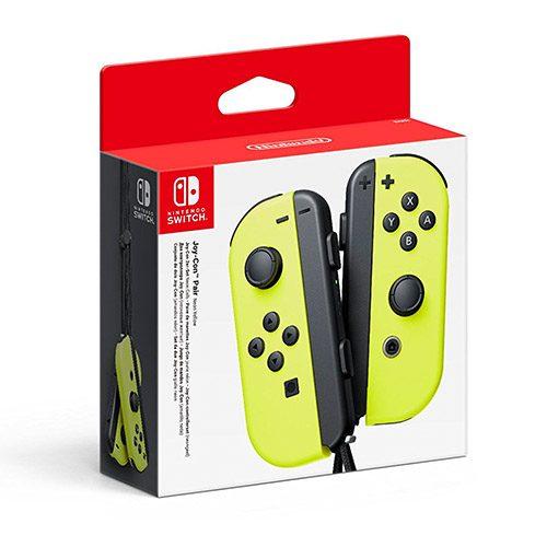 mandos switch amarillo