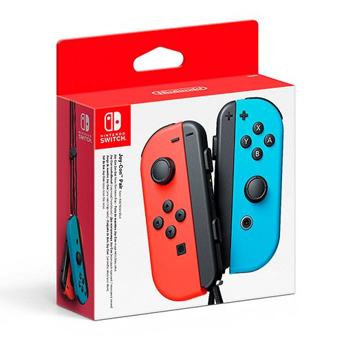 mandos switch rojo azul