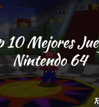 top 10 mejores juegos nintendo 64
