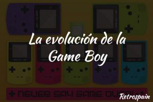 la evolucion de la gameboy