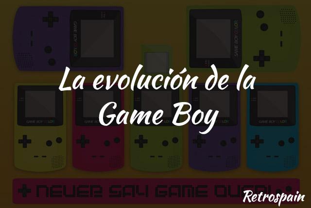 la evolucion de la gameboy