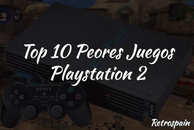 top 10 peores juegos ps2