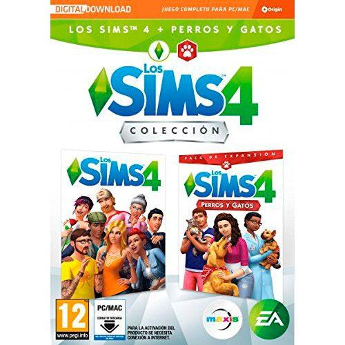 Los Sims 4 Plus - Perros y gatos bundle juego + expansión PC