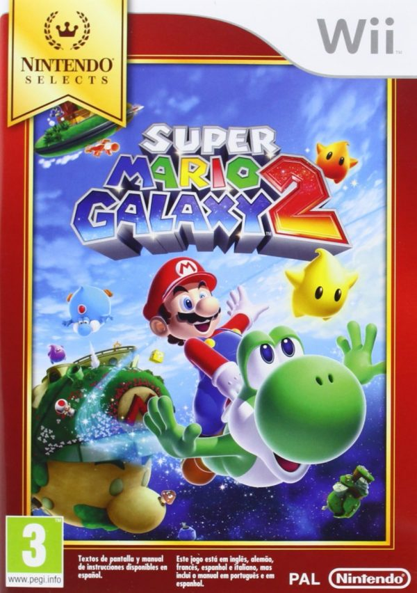 Super Mario Galaxy 2 - Selects Wii