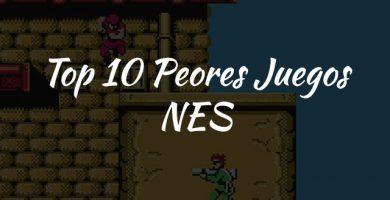 top 10 peores juegos nes