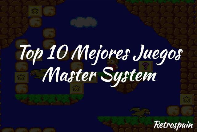top 10 mejores juegos master system