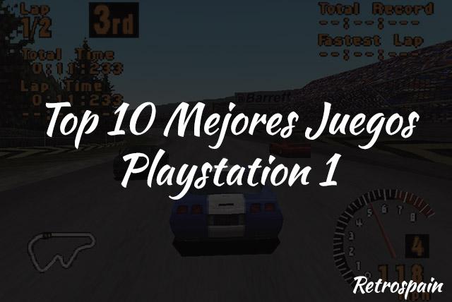top 10 mejores juegos psx